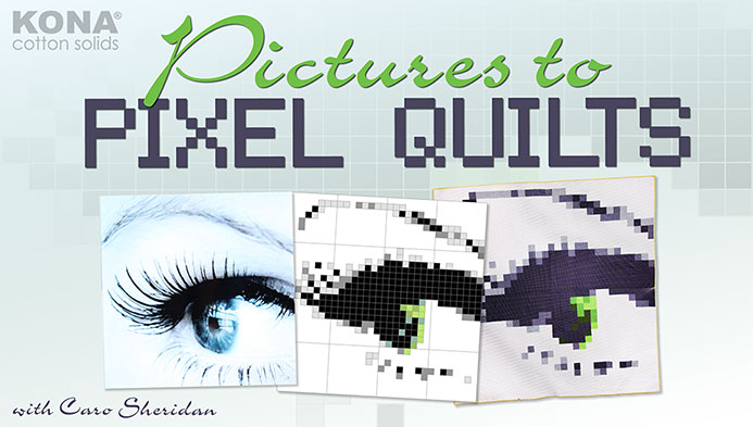 Pictures to Pixel Quilts