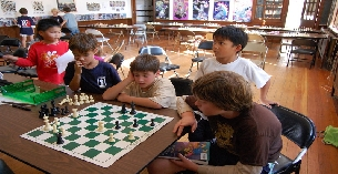 Summer chess camp at Berkeley Chess School